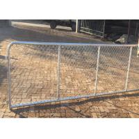 Best 10 FT Length Commercial Chain Link Fence / Heavy Duty Chain Link Fencing wholesale
