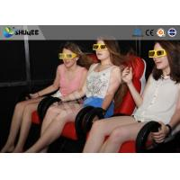 Best 5D Cinema System  Internal of Mobile Car With Wheel , Moved to the  crowded places wholesale