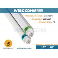 Quality 900mm Dimmable Led Tube T5 13 Watt Power , T5 Replacement Led Tubes Aluminum Housing wholesale