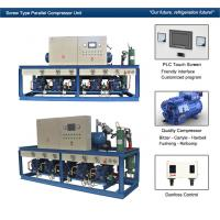Buy cheap Cattle Meat Cooling Bitzer Condensing Units Parallel Compressor Racks from wholesalers