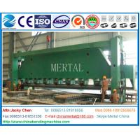 China Marine three-roller plate, pressure head bending machines, hydraulic machine,plate rolling machine for shipbuilding on sale