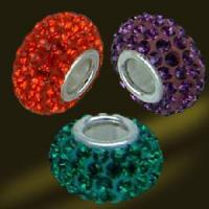 Best 14mm Silver Core Crystal Beads (AV0366) wholesale
