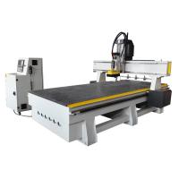 Cheap Changing 4 Pcs Tools Linear ATC CNC Router with SYNTEC System for sale