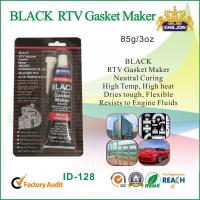 Best Black RTV High Temp Gasket Maker / Silicone Rubber Sealant For Vehicle Body wholesale