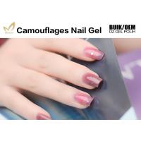 Best Private Label Camouflage Nail Gel Salon / Professional Builder Gel Chemical Free wholesale