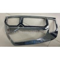 Cheap ABS Chrome Tail Light Cover / Tail Lamp Trim For Navara 2015 for sale