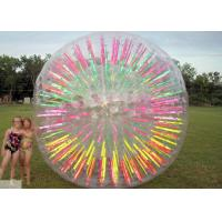 Best LED Lighted Inflatable Hamster Ball Waterproof Outdoor Amusement Sports Play wholesale