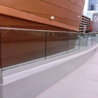 Cheap Factory Aluminum Profile U Channel, Aluminum Glass Channel for Balcony Terrace Metal Railing Designs Systems for sale