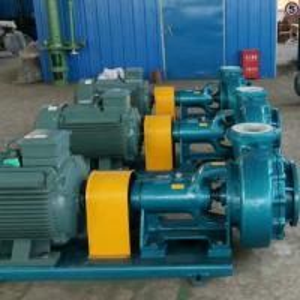China Centrifugal Horizontal Acid Proof Chemical Process Slurry Pump on sale