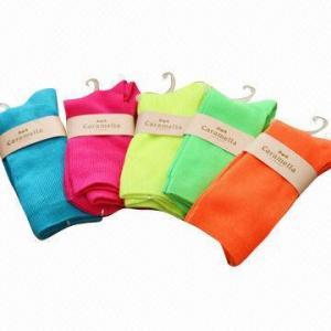 Best Ladies' Double Cylinder Cotton Socks wholesale