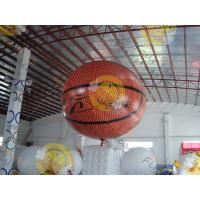 Cheap Fire Proof Sporting Inflatable Basketball Giant EN71 With Helium for sale