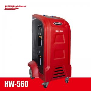 Best LCD Board R134A HW-560 8HP Car Refrigerant Recovery Machine wholesale