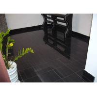 Best Black Wood Marble Stone Tiles For Hotel Decoration Vein Cut Acid Resistant wholesale
