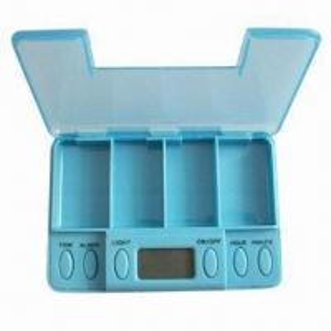 Best Vibrating Pillbox with 5 Alarm Settings wholesale