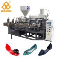 Best Single Color Ladies Jelly Shoe sandals Manufacturing Machines 10Cm/S Injection Speed wholesale