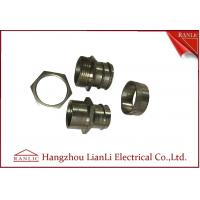 Best 3 Pieces Swivel Adaptor Flexible Conduit Adaptor Inside For PVC Coated Conduit wholesale