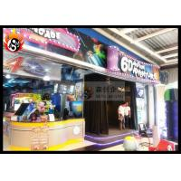 Cheap Professional 6D Local Movie Theaters with 3D Glasses , Hydraulic Platform for sale