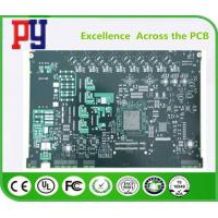 Buy cheap 12 layer circuit board black fr4 2 1OZ Multilayer PCB Board enig from wholesalers