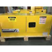 Best Horizontal Flammable Industrial Safety Cabinets Piggyback With Doors 12 GAL wholesale