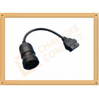 Best 6 Pin Female OBD Extension Cable to OBDII 16 Pin Adapter Cable CK-MFTD006 wholesale