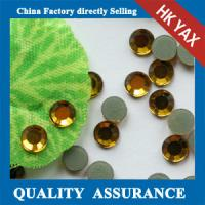 Best YAX factory price SS10 Montana Color Low lead hot fix rhinestone crystals,low lead rhinestone,lead free rhinestone wholesale