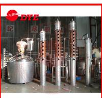 Best 1 - 3Layers Small Commercial Wine Making Equipment With Dephlegmator wholesale
