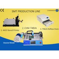 Quality PCB Pick And Place Machine chmt48va Solder Paste Stencil printer Machine T962a Reflow Oven wholesale