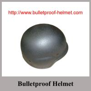 Black NIJ IIIA Bolt  Bulletproof PASGT Helmet With Aramid Multi Layers Fabric