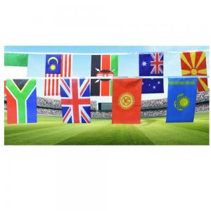 Best 100% Polyester 82 Feet Decoration Flag Line wholesale