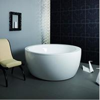 Cheap Eco - friendly Freestanding Round Tub / Deep Bathtubs For Small Bathrooms for sale