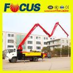 Best sinotruck 25m concrete boom pump truck manufacturer wholesale