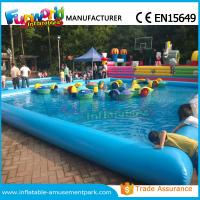 Details Of Customized Inflatable Water Pool Swimming Pool With Paddle Boat Ce Approval 106883713