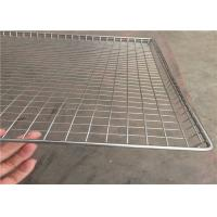 Best Light Weight Wire Mesh Basket Tray , Wire Cable Tray 100cm*50cm*20cm wholesale