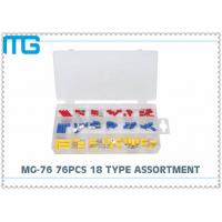Best MG - 76 76 Pcs Automotive Wire Connector Kit RV SV FDD Quick Disconects 18 Types wholesale
