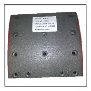 Best truck brake lining,drum brake lining WVA19090, brake parts,brake liner,brake blocks wholesale