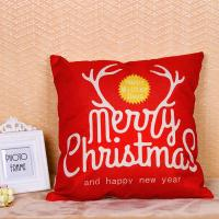 Best Merry Christmas Series Sofa Cushion Covers Decorative Digital Printing For Gift wholesale