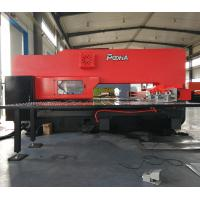 China AMD-357 red color cnc punching press machine for steel plate on sale