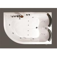 Best Contemporary Whirlpool Therapy Tubs Curved Apron Bathtub With Thermostatic Faucet wholesale