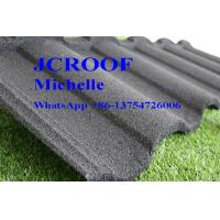 Best Metal Tile Roof Shingles , Coated Metal Roofing Sheets Classical Model Design wholesale