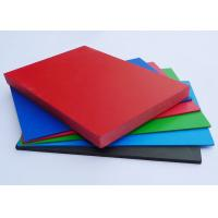 Best Shiny PVC Extruded Foam Board Non Toxic Rigid For Architectural Decoration wholesale