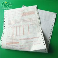 Best Ncr Digital Carbonless Paper , Computer Printing Carbon Copy Paper Sheets OEM wholesale