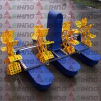 Best High Efficiency Fish Shrimp Prawn Farming Pond Paddle Wheel Aerator wholesale