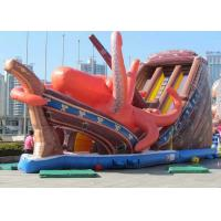 Best Huge Octopus Shaped Inflatable Amusement Park Durable PVC Tarpaulin AK-012 wholesale