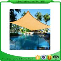 Best Triangle Outdoor Sun Shade Sail / Waterproof Shade Sails 3 X 3m size2 4.5*4.5*4.5m size3 5*5*5m 180g/m wholesale