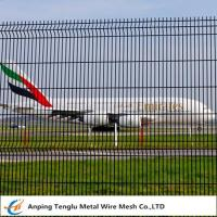 Buy cheap Airport Safety Mesh Fence|50x100mm Hole Size Wire Mesh for Airport Safety from wholesalers