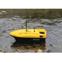 Buy cheap DEVC-113 Yellow RC Fishing Bait Boat autopilot style rc model Battery Power from wholesalers