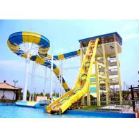 Buy cheap Custom Boomerang Water Slides Commercial Water Park Equipment Installation For Adults from wholesalers