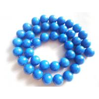 Semi Precious Gemstone Beads, Round Fossil Agate Bead 10mm