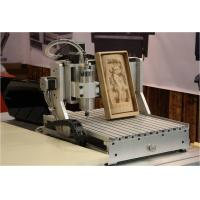 Cheap aman 2030 -4axis 1500W cnc wood carving machine wood engraving milling cutting for sale