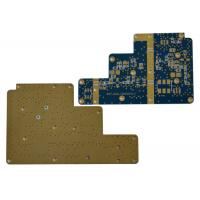 China High Frequency Multilayer Rigid PCB RT / Duroid 5880 Laminates 0.254 Stable Dielectric on sale